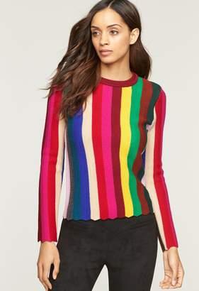 MillyMilly Chevron Vertical Stripe Sweater