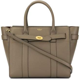Mulberry small zip Bayswater tote