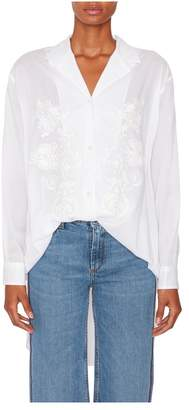 Etro Embroidered Button Down Blouse