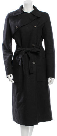 CelineCéline Cashmere Double-Breasted Coat