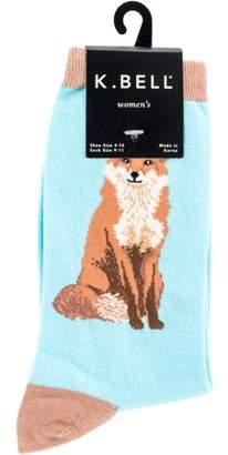K. Bell Novelty Crew Socks - Foxy Sox