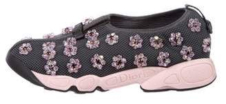 Christian Dior Embellished Slip-On Sneakers