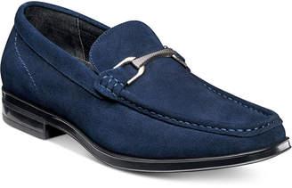 Stacy Adams Men's Newcomb Moc-Toe Slip-On with Bit Men's Shoes