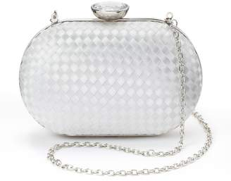 La Regale Lenore By Lenore by Satin Ribbon Minaudiere Clutch