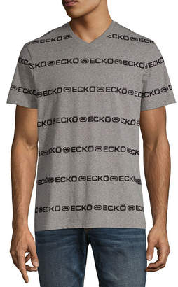 Ecko Unlimited Unltd Short Sleeve V Neck T-Shirt