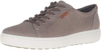 Ecco Shoes Men's Soft 7 Perf Low Lace up Shoe