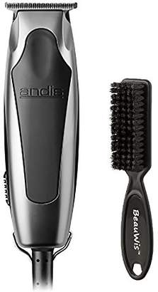 Andis SuperLiner Haircutting Trimmer for dry shaving and fading with a Bonus Replaceable Shaver & BeauWis Blade Brush Included