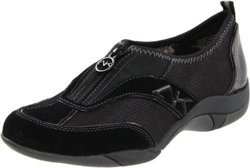 Anne Klein Sport Women's Undertake Sneaker, Black - 10M