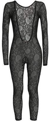 MSGM Chantilly Lace Bodysuit