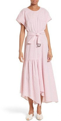 Women's Rachel Comey Steady Seersucker Maxi Dress $437 thestylecure.com