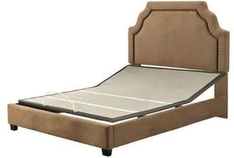 Crosley Furniture Loren Keyst1 Upholstered King Bedset