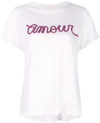 7d2d644cc Cinq à Sept sequin embellished T-shirt