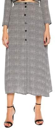 Bardot Tori Button-Up Skirt