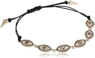 Rebecca Minkoff Celestial Evil Eye Pulley Bracelet