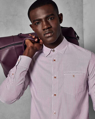 Ted Baker LONSTRI Striped cotton shirt