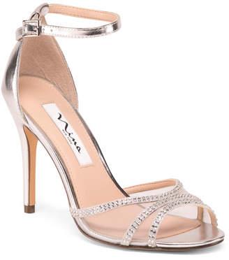 cfc746688 Silver Stiletto Heel Women's Sandals - ShopStyle