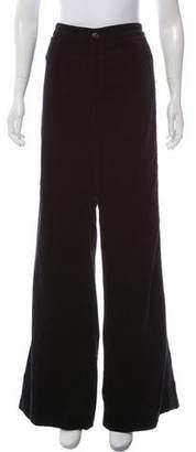 J Brand High-Rise Wide-Leg Pants