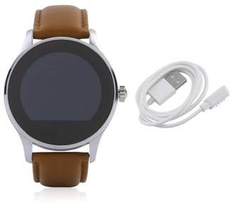 Hill Water Resistant Smartwatch Round B luetooth Watch With Heart Rate Monitor