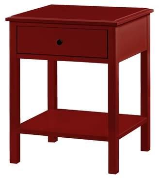 Vasco Side Table Finish: Red