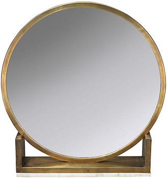 Jamie Young Odyssey Standing Accent Mirror - Antiqued Brass