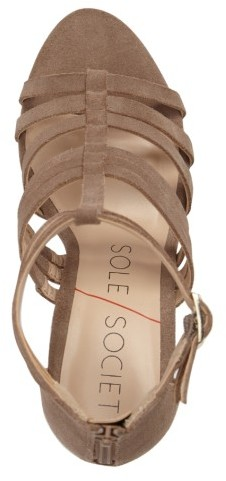 Women's Sole Society 'Elise' Gladiator Sandal 5