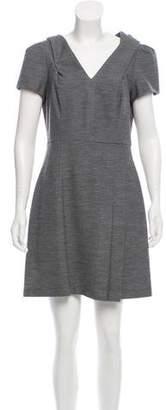 Prada Short Sleeve Mini Dress