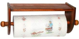 Home Basics Rustic Collection Pine Wall-Mounted Paper Towel Holder