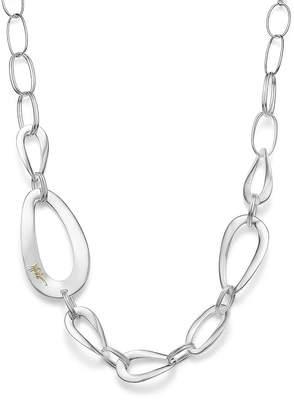 "Ippolita Sterling Silver Cherish Large Link Collar Necklace, 22"""