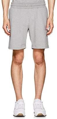 Leon AIMÉ DORE Men's Logo Cotton Shorts - Gray