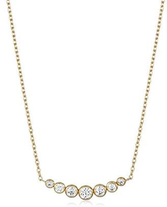 Michael Kors Park Avenue Inset -Tone Pendant Necklace