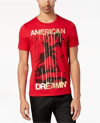 GUESS Men's American Dreamin' Metallic-Print T-Shirt