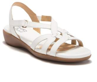 Naturalizer Neo Leather Wedge Sandal - Wide Width Available