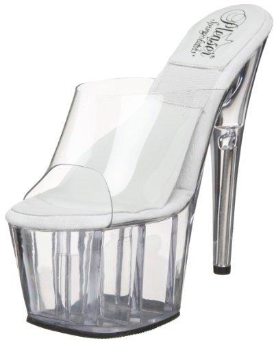 Pleaser USA Women's Springolator-701-O Platform Sandal