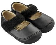 Old Soles Baby Girl's & Little Girl's Pet Jane Faux-Fur Shoes