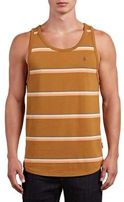Volcom Men's Sheldon Striped Tank Top