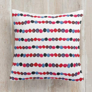 watercolor flowing. Square Pillow