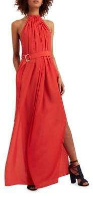 AQ/AQ Spencer Halter Neck Maxi Dress $190 thestylecure.com