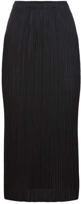 Pleats Please Pleated Midi Skirt
