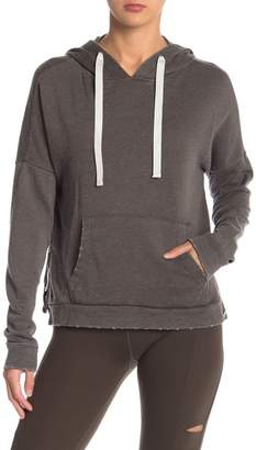 Betsey Johnson Knit Side Zip Hoodie