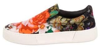 Balenciaga Floral Slip-On Sneakers