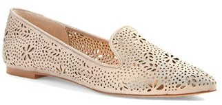Women's Vince Camuto 'Earina' Perforated Flat $109.95 thestylecure.com