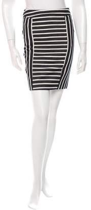 Rachel Zoe Striped Knee-Length Skirt w/ Tags