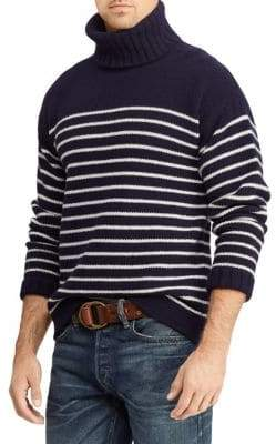 Polo Ralph Lauren Regular-Fit Stripe Turtleneck Sweater