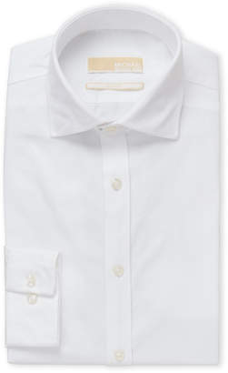 MICHAEL Michael Kors White Slim Fit Dress Shirt