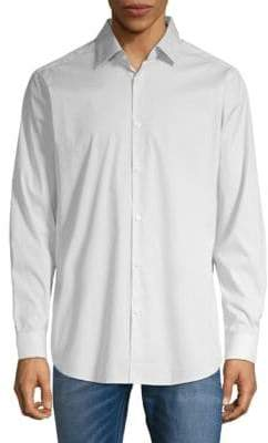 Theory Dover Spr. Hardin Long Sleeve Shirt