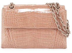 Nancy Gonzalez Madison Crocodile Small Chain Shoulder Bag