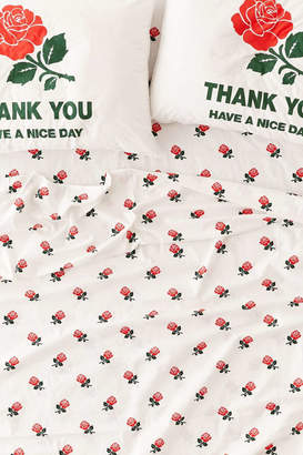 Urban Outfitters Chinatown Market Exclusive Roses Sheet Set