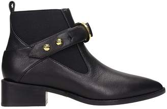Kat Maconie Black Leather Edie Ankle Boots