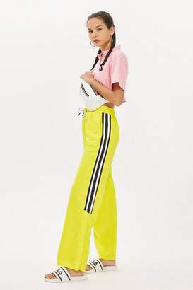 Topshop Yellow Sport Joggers