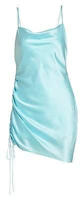 Cinq à Sept Women's Astrid Silk Side-Shirred Dress